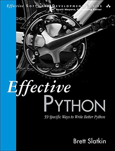 EFfective Python Book Cover