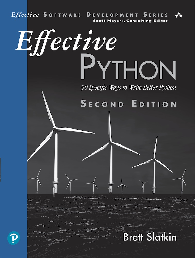 Effective Python: Second Edition Book Cover